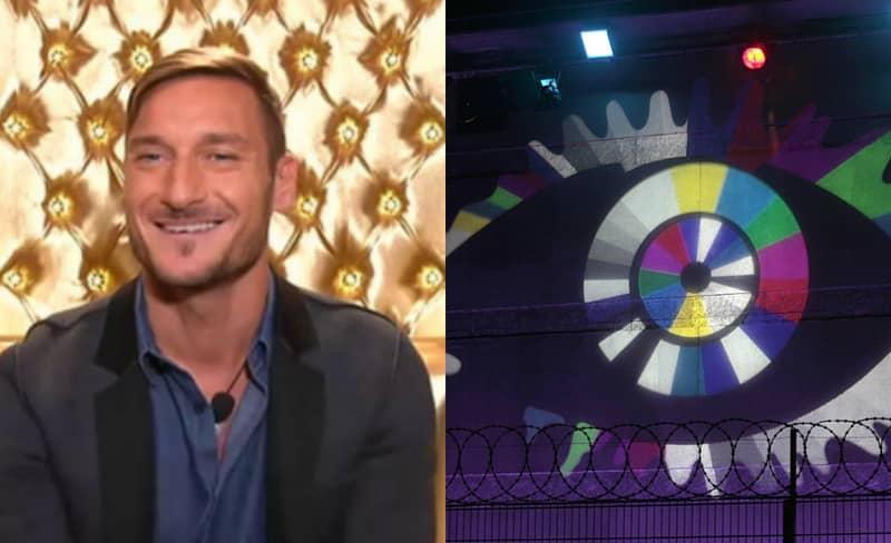 Francesco Totti Pops Into The Italian Big Brother House