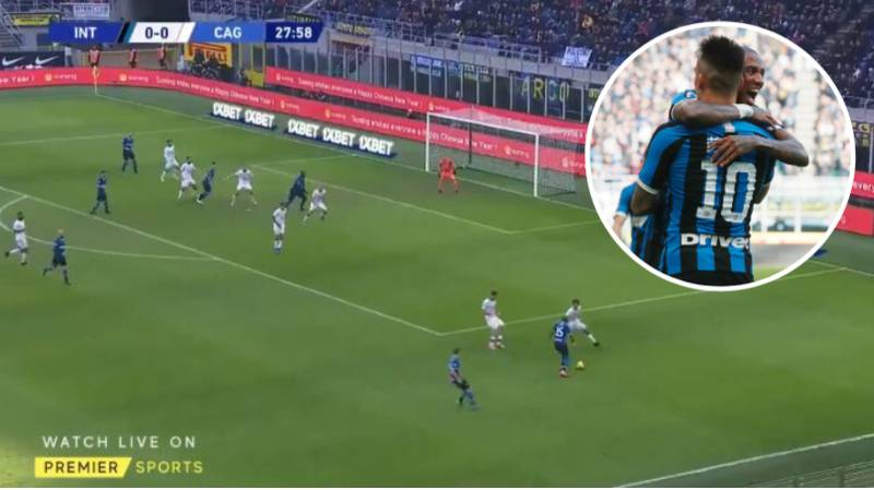 Ashley Young Provides Perfect Assist On Inter Debut