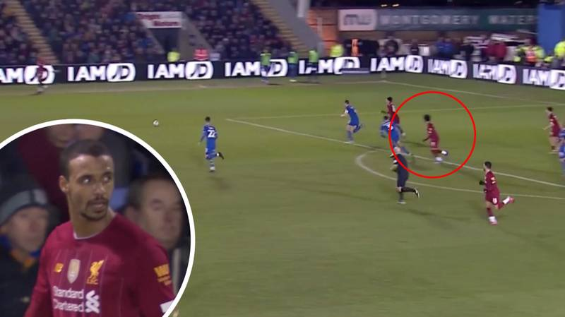 Mo Salah Tried To Pass To Joel Matip After Replacing Him Against Shrewsbury