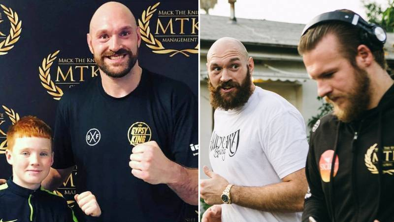 Tyson Fury Is Already Back In Training And Looks In Great Shape