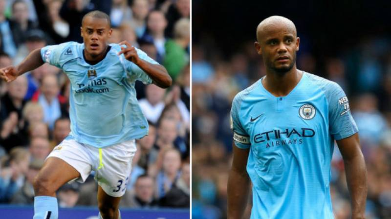 Vincent Kompany Joined Manchester City Ten Years Ago Today