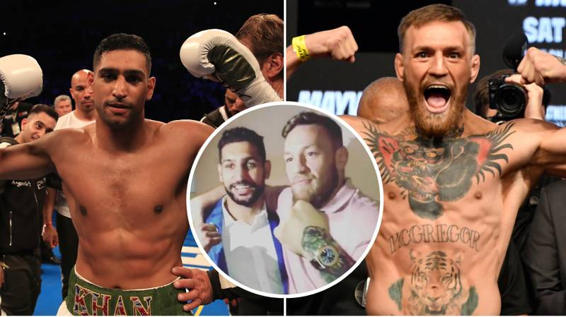 Amir Khan Wants To Fight Conor McGregor After Terrence Crawford