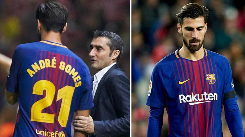 Barcelona Midfielder Andre Gomes Gives A Heartbreaking Interview About His Current Situation