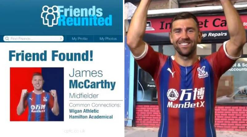Crystal Palace Have Posted The Worst Announcement Video Ever For James McCarthy