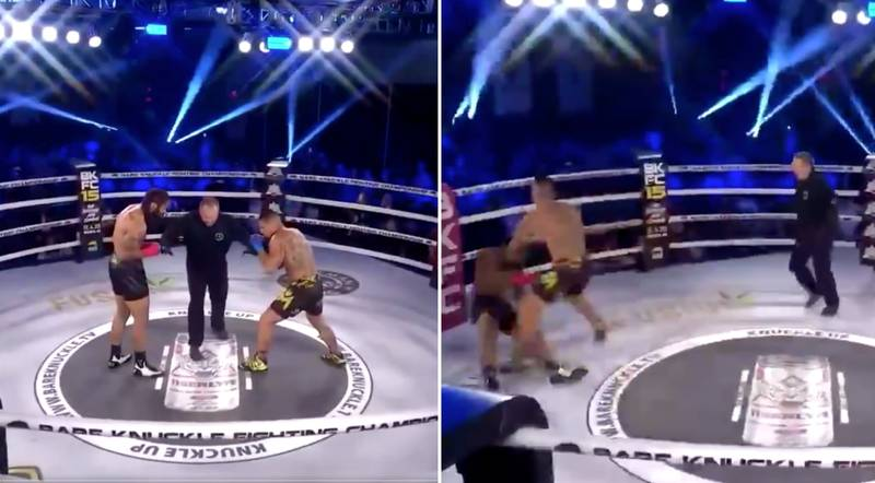 Bare Knuckle Fight Ends In Brutal Knockout After Just Three Seconds