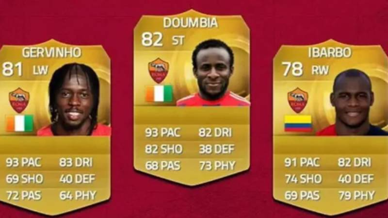 The Streets Will Never Forget Roma's Sweaty Front Three On FIFA 15