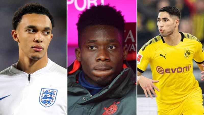 Alphonso Davies Picks His Top Five Full-Backs in World Football