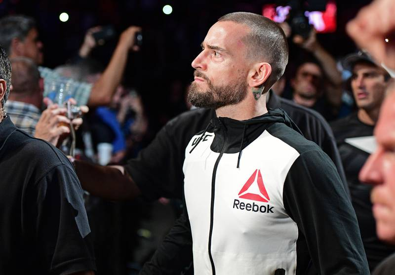 CM Punk Was Paid Like A UFC Star Despite His Quick Submission Loss