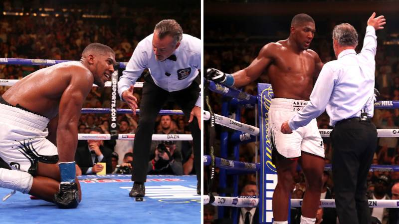 Anthony Joshua Vs Andy Ruiz Jr Referee Finally Speaks Out On Decision To Stop The Fight