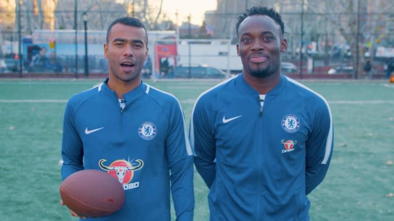SPORTbible Meets Chelsea Legends Michael Essien And Ashley Cole