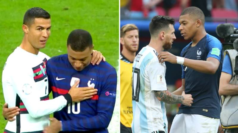 Kylian Mbappe's Brilliant Answer When Asked To Choose Between Lionel Messi And Cristiano Ronaldo In His Team