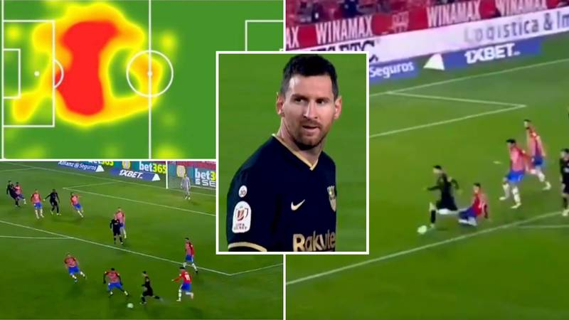Lionel Messi's 10/10 Masterclass Vs Granada Shows Why He's The Greatest Playmaker Of His Generation