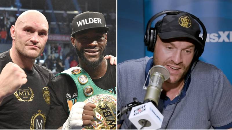 """Tyson Fury Savagely Responds To Deontay Wilder For Asking Him To """"Step Aside"""""""