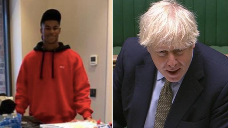 Marcus Rashford Refuses To Give Up Up On Free School Meal Campaign Despite Boris Johnson Rejection
