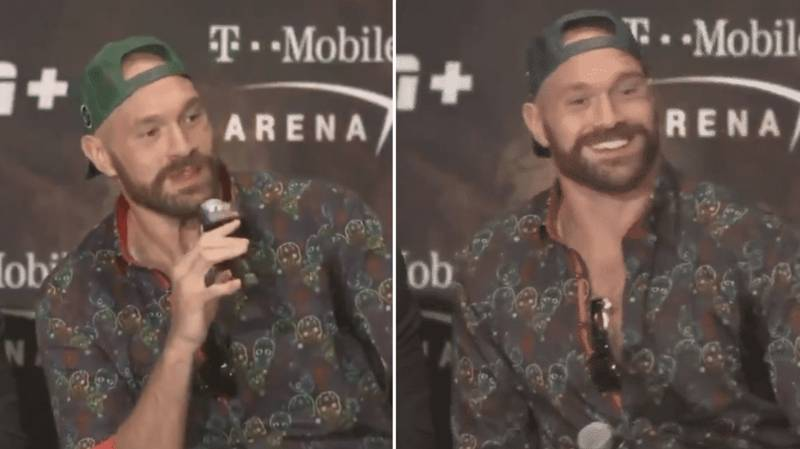 Tyson Fury Was Asked A Question In Spanish And Responded With A Hilarious Answer