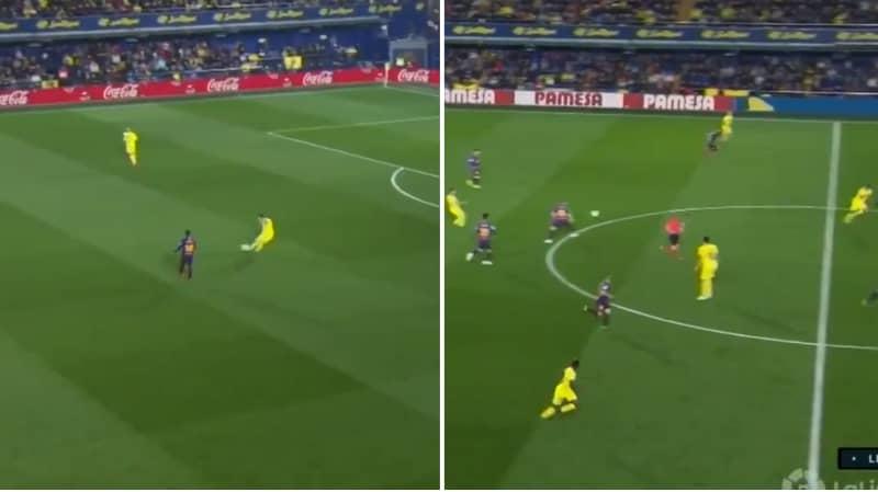 Santi Cazorla Dropped An Absolute Masterclass Against Barcelona Last Night