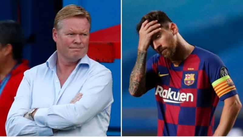 "Ronald Koeman ""Cannot Take Charge Of Barcelona"" In La Liga Yet"