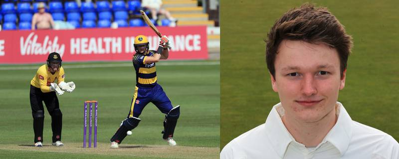 Glamorgan Teenager Equals Fastest Double Century Record