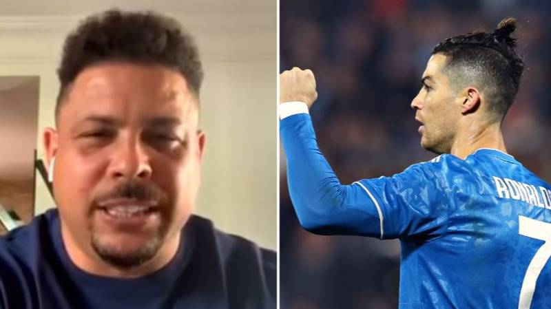 R9 Explains Why 'Real Ronaldo' Is Boring For Cristiano Ronaldo