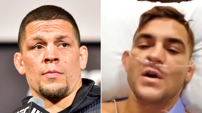 Nate Diaz Brutally Responds To Dustin Poirier's UFC Call-Out, Tweets Old Video
