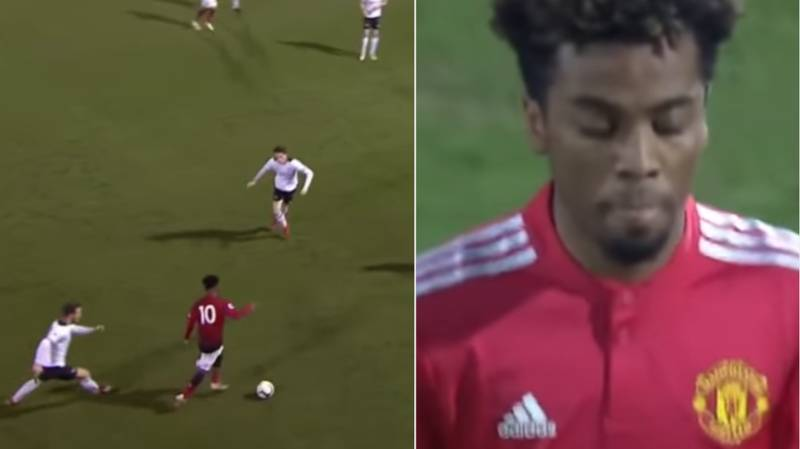 Highlghts Of Angel Gomes' Performance Against Derby U23's Proves He Is A Special Talent