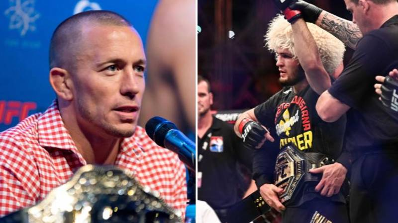 Georges St-Pierre Has Explained Why He Wanted To Face Khabib Nurmagomedov