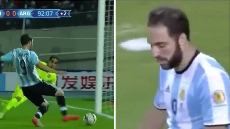 The Three Times Gonzalo Higuain Missed Big Chances In Major Finals To Cost Argentina