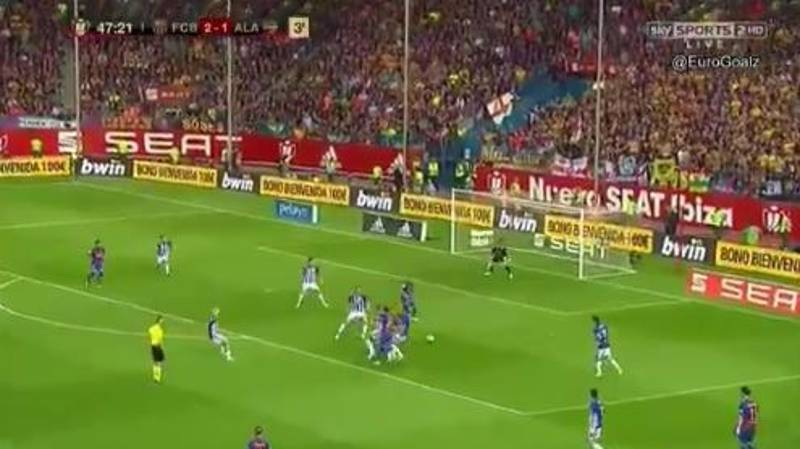 WATCH: Lionel Messi Takes The Mick With Sublime Assist For Paco Alcacer