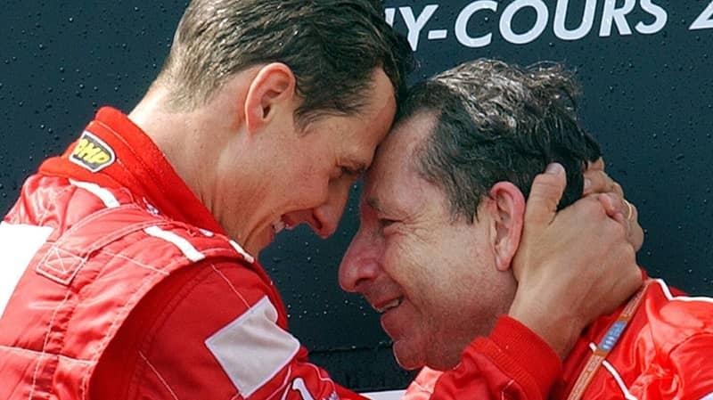 Former Ferrari Boss Says Michael Schumacher 'Keeps Fighting' And Watches Formula 1