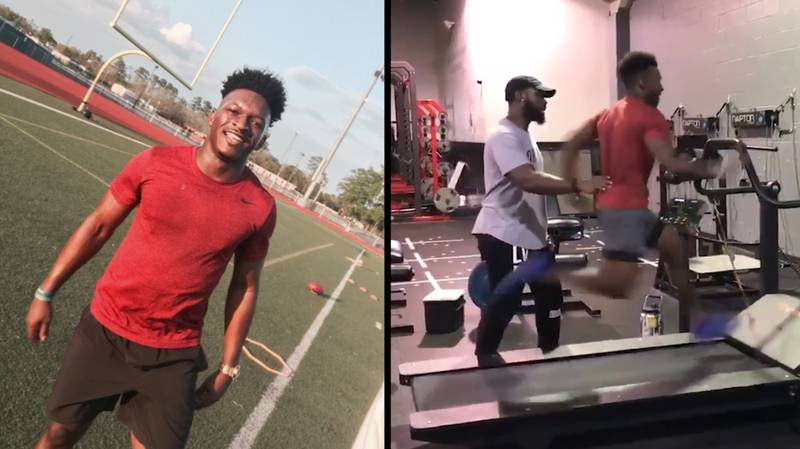 The 'Impossible' 24mph Treadmill Sprint That Is Blowing Everybody's Mind