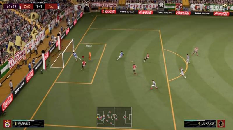 Incredible Moment Raphael Varane Blatantly Punches The Ball On FIFA 21 Ultimate Team