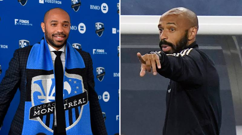 Thierry Henry Gives Emotional Statement As He Leaves Montreal Impact