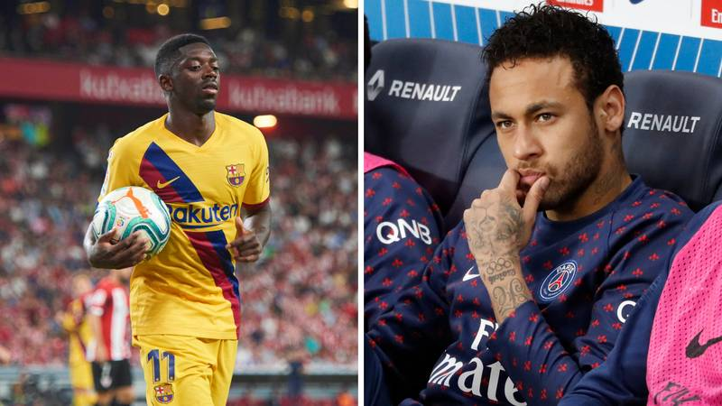 Barcelona Launch New Neymar Bid Which Includes Ousmane Dembele