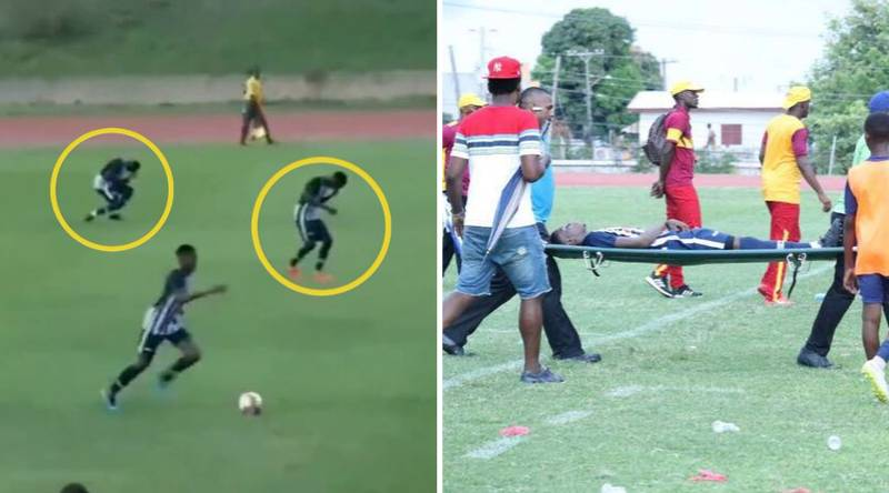 Jamaican Students Rushed To Hospital After Being Struck By Lightning In Football Match