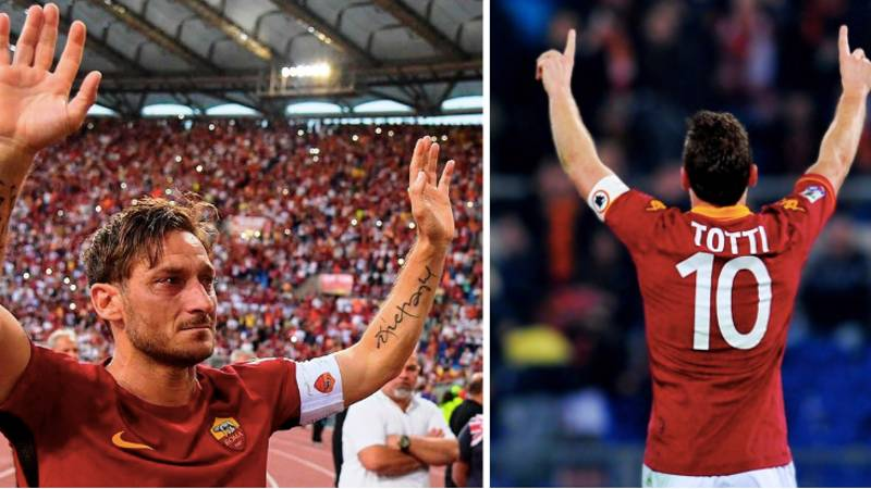 Francesco Totti Says He'd Be Worth €200 Million In Today's Market