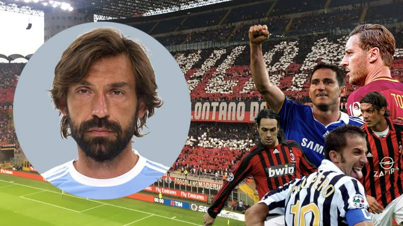 The Line-Up For Andrea Pirlo's Testimonial Is Just Legend After Legend After Legend