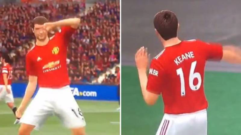 Fans Are Loving The Video Of 'Roy Keane' Dancing On FIFA 21