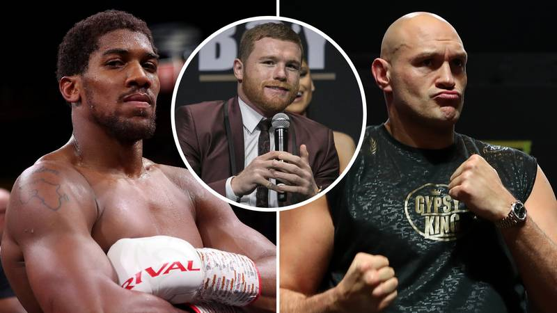 Canelo Alvarez Gives A Very Specific Prediction For Anthony Joshua Vs Tyson Fury Mega-Fight