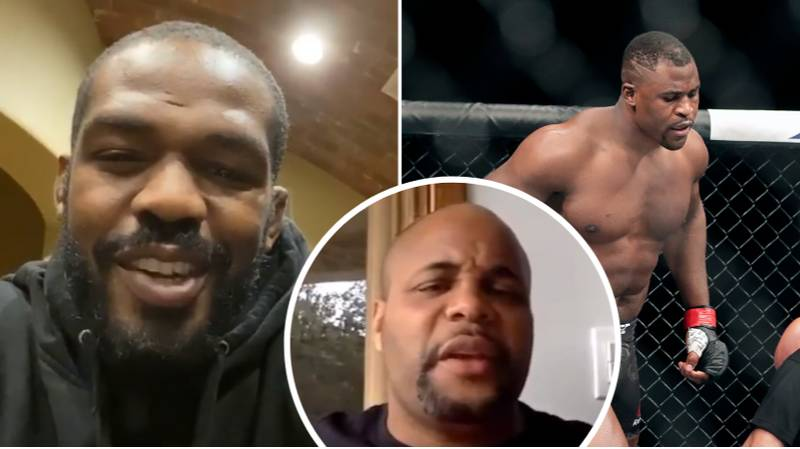 Jon Jones Sends Message To UFC About Francis Ngannou Super-Fight, Daniel Cormier Reacts