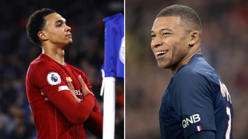 Kylian Mbappe Responds To Trent Alexander-Arnold's Celebration In Liverpool's Victory Over Leicester City