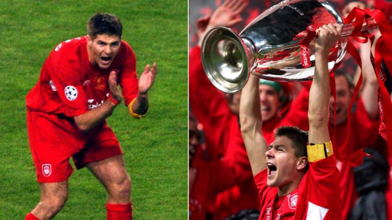 Steven Gerrard vs AC Milan In 2005 Is One Of The All-Time Great Individual Performances