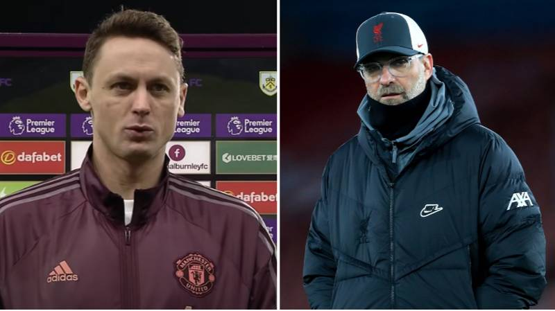Nemanja Matic Fires Warning At Liverpool After Manchester United Go Top Of The League