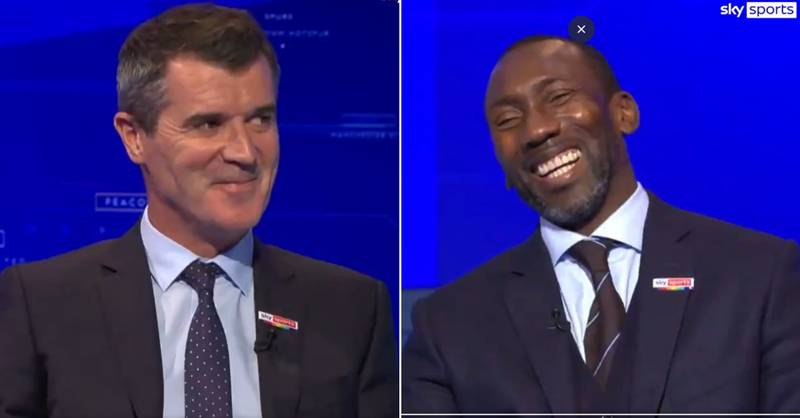Roy Keane Made An Actual Joke On Punditry And Even Cracked A Smile