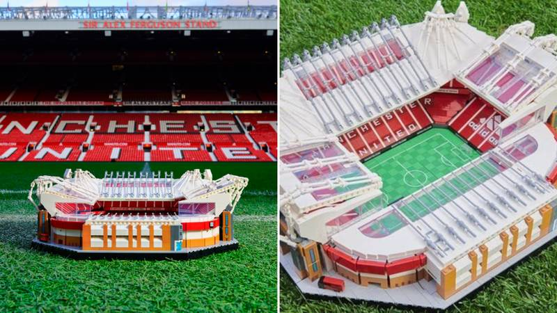 LEGO Have Released A 3898-Piece Set Of Manchester United's Old Trafford Stadium