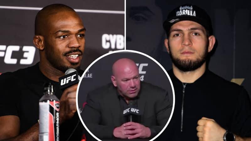 UFC President Dana White Calls Khabib Nurmagomedov The 'MMA GOAT' Ahead Of Jon Jones