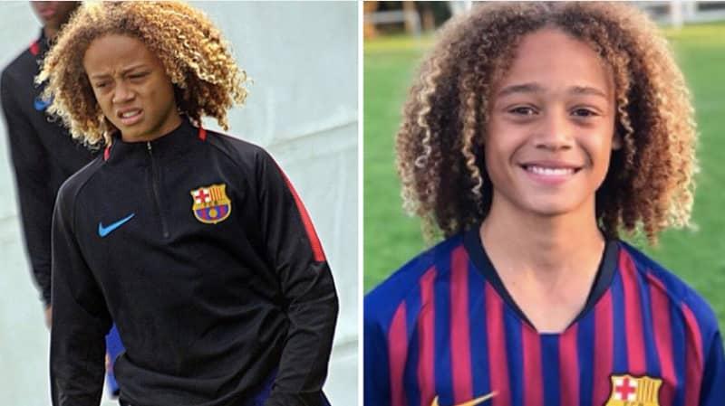 16-Year-Old Xavi Simons Has Left FC Barcelona