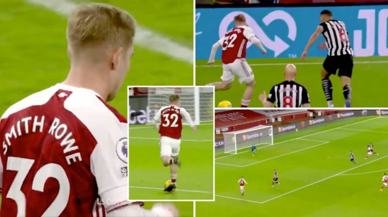 Emile Smith Rowe's Highlights vs Newcastle Prove He's The Player Arsenal Have Needed For A Very Long Time