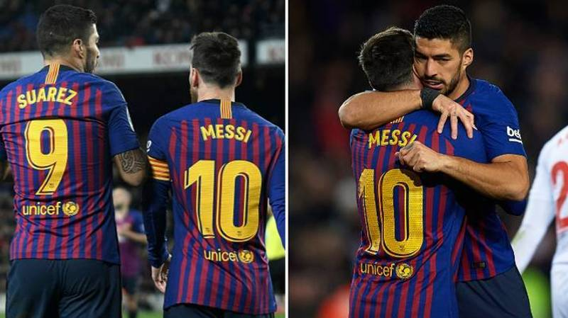 Lionel Messi Aims Another Dig At Barcelona Over Luis Suarez Departure