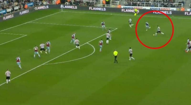 Newcastle United Defender Fabian Schär Scores A 25-Yard Worldie Against Burnley