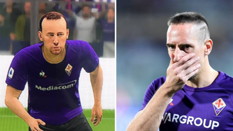 Franck Ribery Isn't Happy With How He Looks In FIFA 20